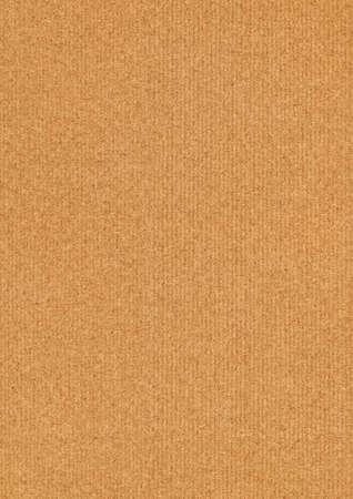 High Resolution Recycle Striped Brown Manila Kraft Paper Coarse Grunge Texture