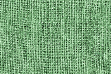 Kelly Green Burlap Canvas Coarse Grain Grunge Background Texture
