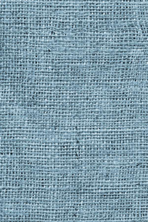 Powder Blue Burlap Canvas Coarse Grain Grunge Background Texture