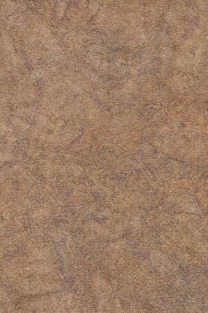 Photograph of Recycle Coarse Grain Striped Brown Kraft Paper Mottled Grunge Texture