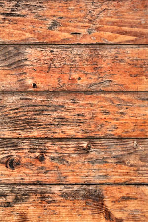 Old Weathered Rotten Cracked Pinewood Planks Rough Grunge Texture Detail Stock Photo