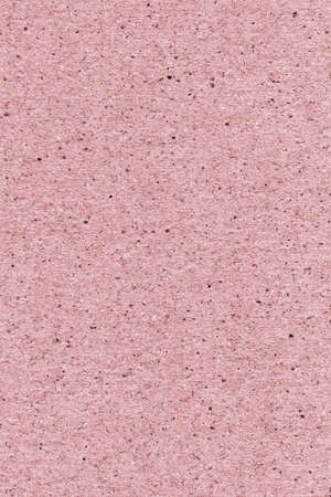 High resolution photograph of recycle paper light pink coarse grain grunge texture sample