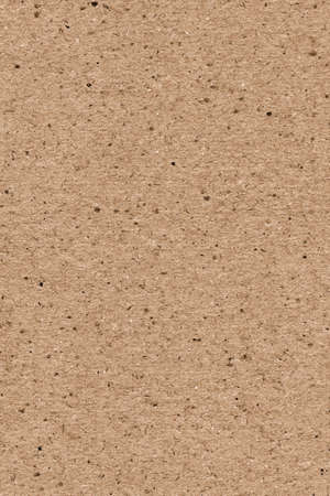 High resolution photograph of recycle paper light brown coarse grain grunge texture sample Stock Photo