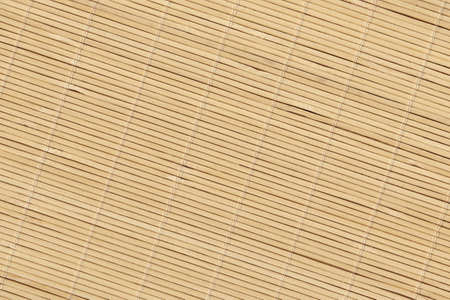 Bamboo Place Mat Rustic Slatted Interlaced Coarse Texture