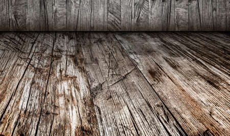 Old Weathered Cracked Knotted Rough Rustic Pinewood Backdrop_