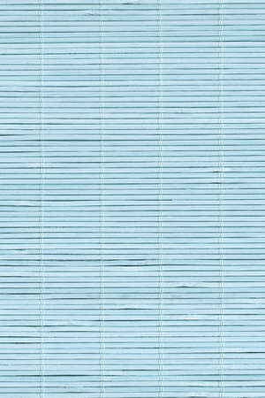 High Resolution Pale Blue Bamboo Place Mat Rustic Slatted Interlaced Coarse Background Texture Reklamní fotografie