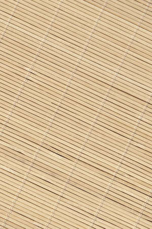 High Resolution Bamboo Place Mat Rustic Slatted Interlaced Coarse Grain Background Texture Reklamní fotografie