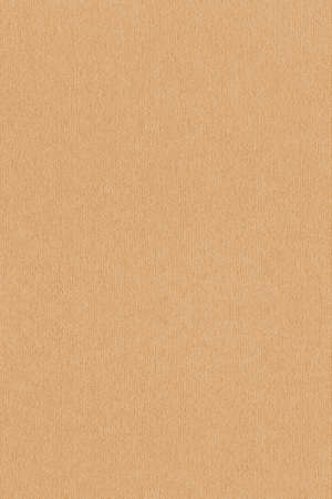 High Resolution Ocher Recycled Striped Kraft Paper Coarse Grain Texture