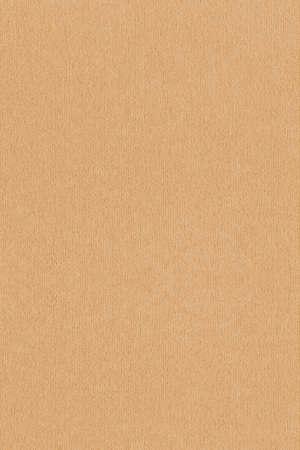 Textura de grano grueso de papel Kraft rayado reciclado ocre de alta resolución