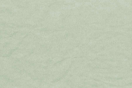 High Resolution Mignonette Green Recycled Striped Kraft Paper Crumpled Coarse Grain Texture