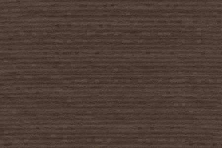 High Resolution Raw Umber Brown Recycled Striped Kraft Paper Coarse Grain Texture