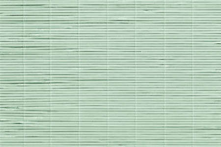 High Resolution Bleached Pale Green Bamboo Rustic Place Mat Slatted Interlaced Coarse Grain Texture Detail Archivio Fotografico - 139590494