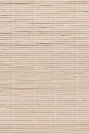 High Resolution Bamboo Rustic Place Mat Slatted Interlaced Coarse Texture Detail Archivio Fotografico - 139590495