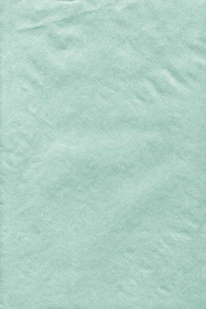 Pale Kelly Green Striped Kraft Paper Envelope Grunge Crumpled Surface Texture Detail