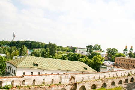 lavra: view of the ancient Kiev Pechersk Lavra of Kiev in Ukraine