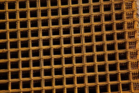 rejas de hierro: Iron bars reinforcement concrete bars with wire rod for house construction