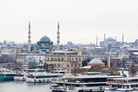 Ottoman time and style mosque built in Istanbul
