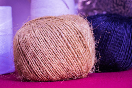 Set or rolls of colotful string