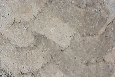 background texture: Patterns on a freshly poured concrete surface Stock Photo