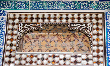 marqueteria: Ottoman art example of Mother of Pearl inlays