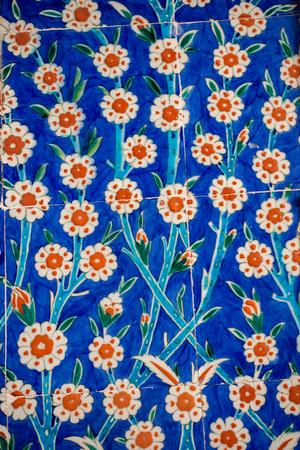Ottoman Ancient Handmade Turkish Tiles With Floral Patterns Stock Inspiration Turkish Pattern