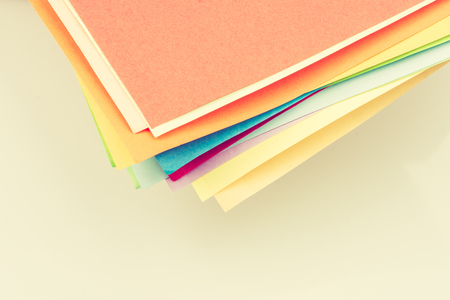 Color paperin view as  texture background