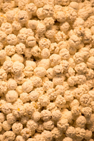 A pile of Turkish style sugar-coated chickpeas