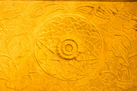 Ottoman marble carving art in detail