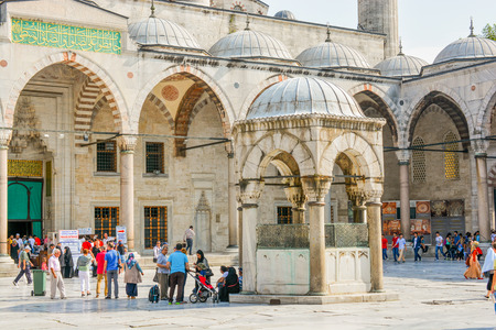 Outer view of dome in Ottoman architecture in, Istanbul, Turkey
