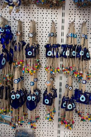 Evil eye bead as Amulet souvenir  from Turkey