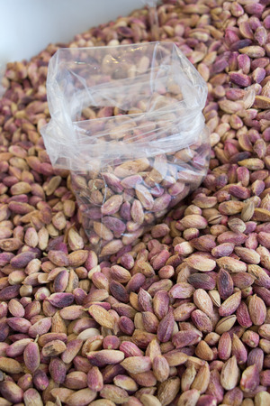 Plenty of Cleared Pistachio ready to eat 写真素材