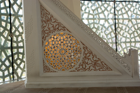 Example of applied Ottoman art patterns