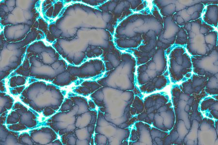 Lightning bolts radiating as  texture