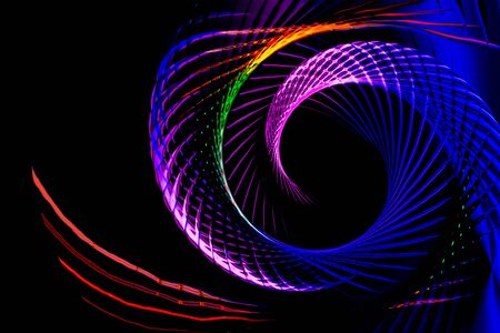 Colorful  spiral lines background pattern Фото со стока