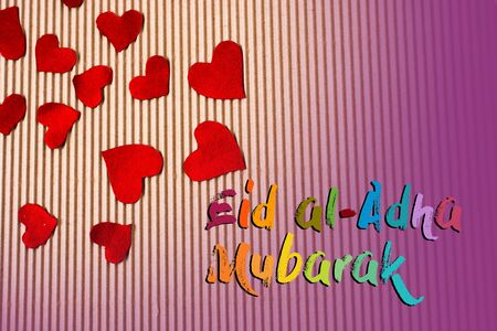Muslim holiday festival of sacrifice, Happy Eid al-Adha mubarak wording