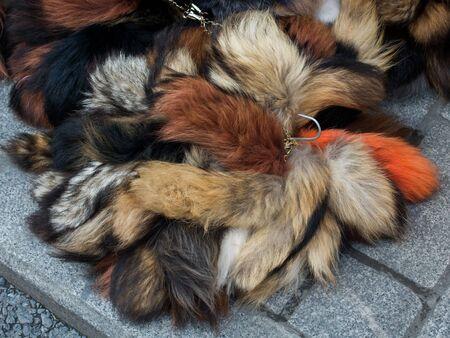 Decorative animal fur Stok Fotoğraf