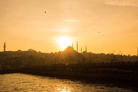 Istanbul city skyline. Imagens - 128596541