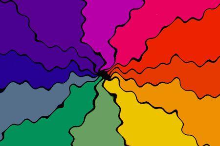 Modern soft gradient colors with twist swirl colors Standard-Bild - 129487419