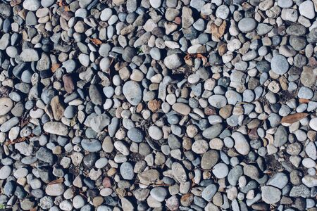 Background texture consist of full of little pebbles