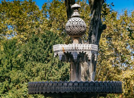 Turkish Ottoman style antique  fountain in view Фото со стока