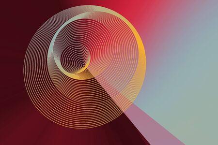 Colorful  spiral lines background pattern Banco de Imagens