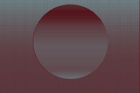 Modern futuristic abstract  geometric sphere gradient shapes Stok Fotoğraf
