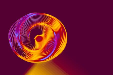 Colorful  spiral lines background pattern Stock Photo