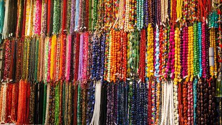 Set of Rosary praying beads for practicing mindfulness meditation praying beads