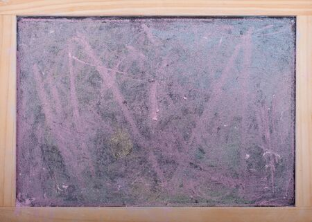 Abstract chalk dust covered dirty stained  chalkboard background Stock Photo