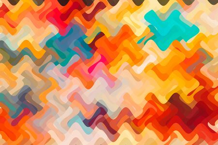 abstract colorful patterns as background  texture Banco de Imagens
