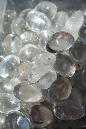 natural mineral rock specimen - smoky quartz