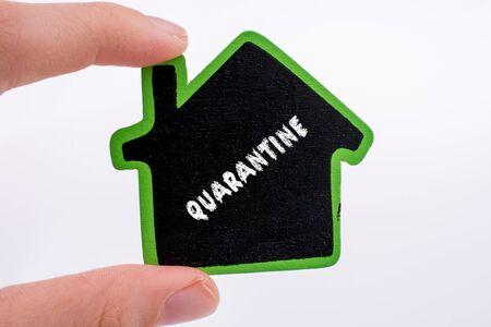 Coronavirus pandemic health advice. stay at home. Social distance. quarantined Foto de archivo