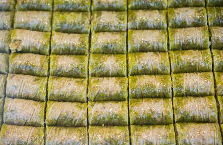 Traditional Turkish dessert Baklava from Istanbul Turkey Фото со стока - 147465845