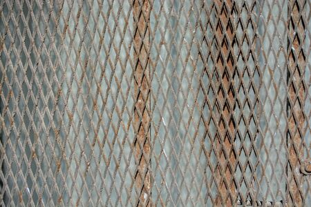 Old rusty  corroded metal as abstract background texture Stock Photo